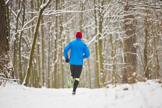 Hardlopen en verkoudheid en koud weer, Hardlopen in de sneeuw een paar tips