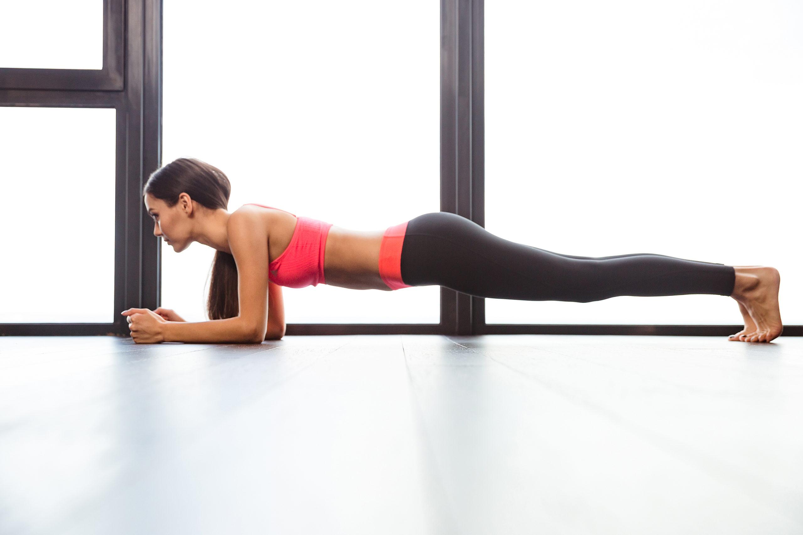 hardlopen en planken