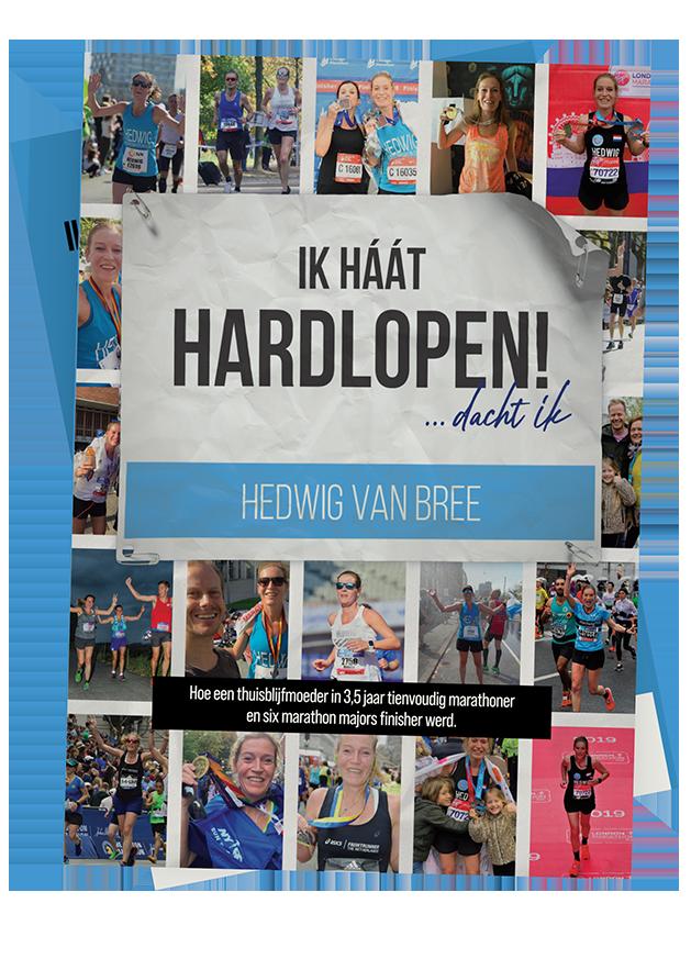 Boek cover van ik haat hardlopen